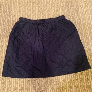 J. Crew Crewcuts quilted navy skirt